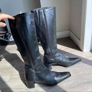 Arnold Churgin Italian Handmade Leather Boots